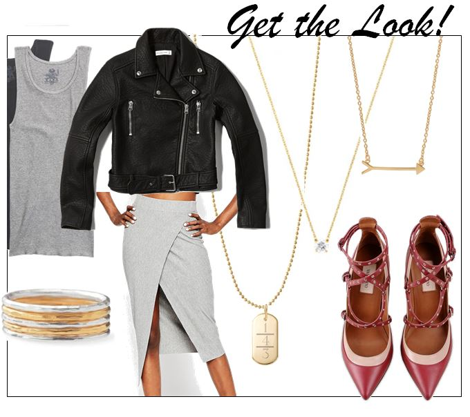 get the look - 50 shades of grey